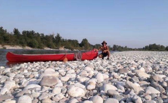 Da Maccagno a Pavia in canoa, Gabriele Brambini racconta la sua avventura