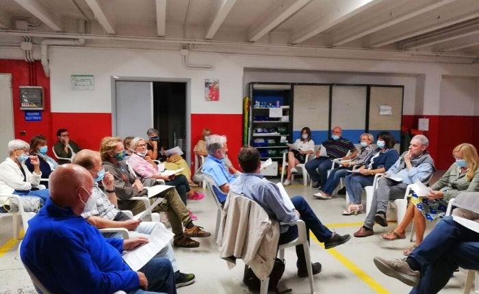 Dopo gli incontri con i candidati sindaci Enrico Bianchi e Furio Artoni, nella serata di mercoledì 9 settembre la Comunità Operosa ha dialogato anche con la lista
