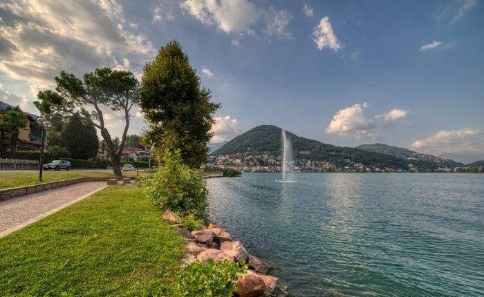 Lavena Ponte Tresa, #PuliAMO il lago nel golfo italo-svizzero