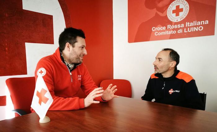 Croce Rossa Luino e SOS Tre Valli insieme per il bene del territorio