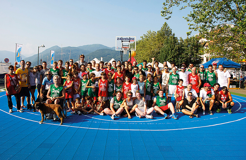 "Luino: torna nel weekend la ""24ore di Basket"", in riva al lago la partita più lunga dell'estate"
