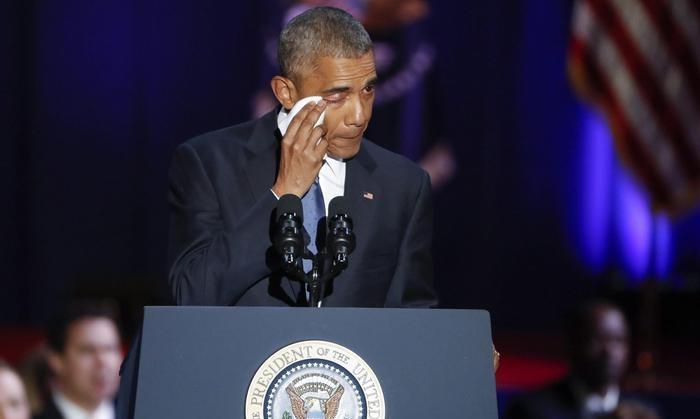 """L'addio di Obama: """"Yes we Did"""". Sì, perché """"oggi l'America è migliore"""""""
