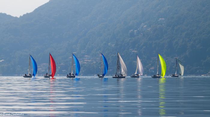 2016 Melges 24 European Sailing Series Event 6 - Day 1 - AVAV, Luino, ITA - 07102016 (c) Piret Salmistu