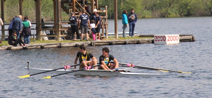Canottieri Luino otto volte sul podio a Candia, vittoria nel doppio Master con Manzo e Del Ferraro (2x ragazzi Simone Pagliuca, Manuel Ippolito)