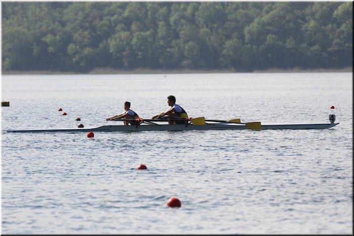 Canottieri Luino medagliata a Eupilio, un mese di aprile ricco di soddisfazione (2x ragazzi m Tobia Angeretti - Rida Ouled Toumi)