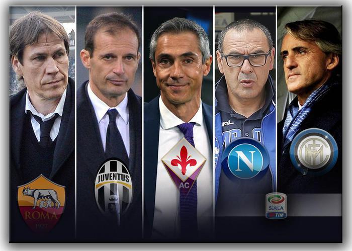 Calcio, Serie A: cinque squadre in quattro punti lottano per lo Scudetto (ANSA)