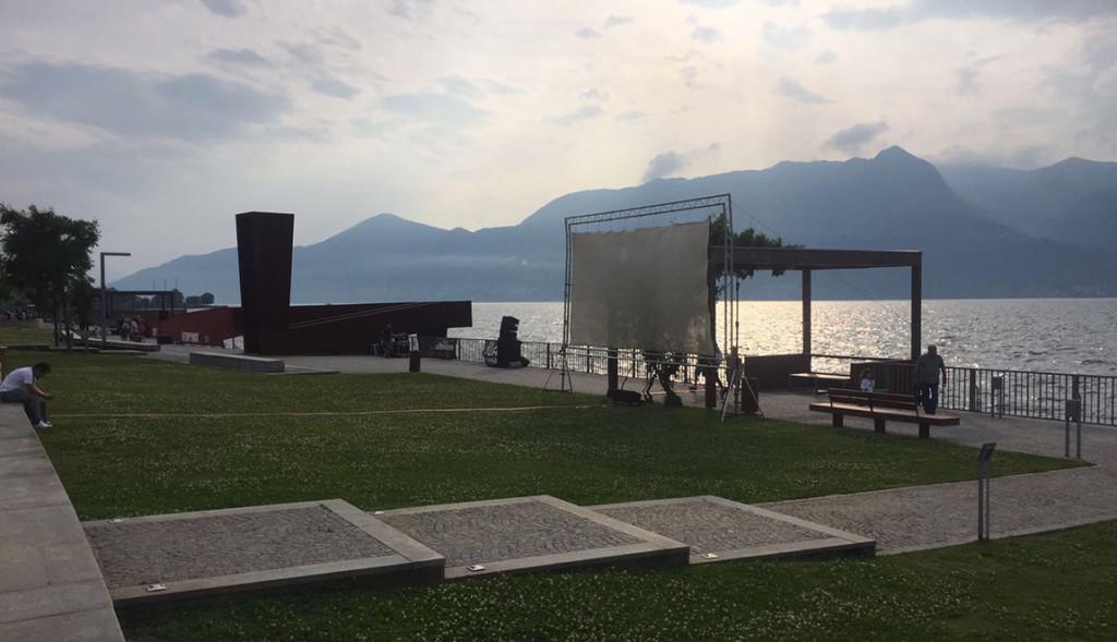 Luino, confermato il maxi-schermo al Parco a Lago per Italia-Germania e i fuochi d'artificio