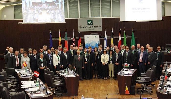 """Ue, Cattaneo: """"Solo le Regioni salveranno l'Europa"""". Il presidente lancia l'assemblea Calre a Varese"""