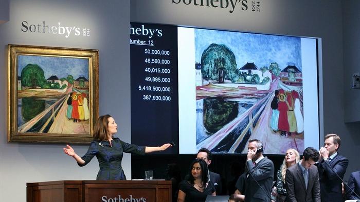 """Munch, """"Le ragazze sul ponte"""" venduto a 54 milioni di dollari"""