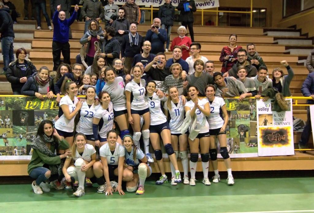 L'Epikure Luino Volley fa la grande: netto 3-0 alla Mtv Marina Militare e secondo posto conquistato