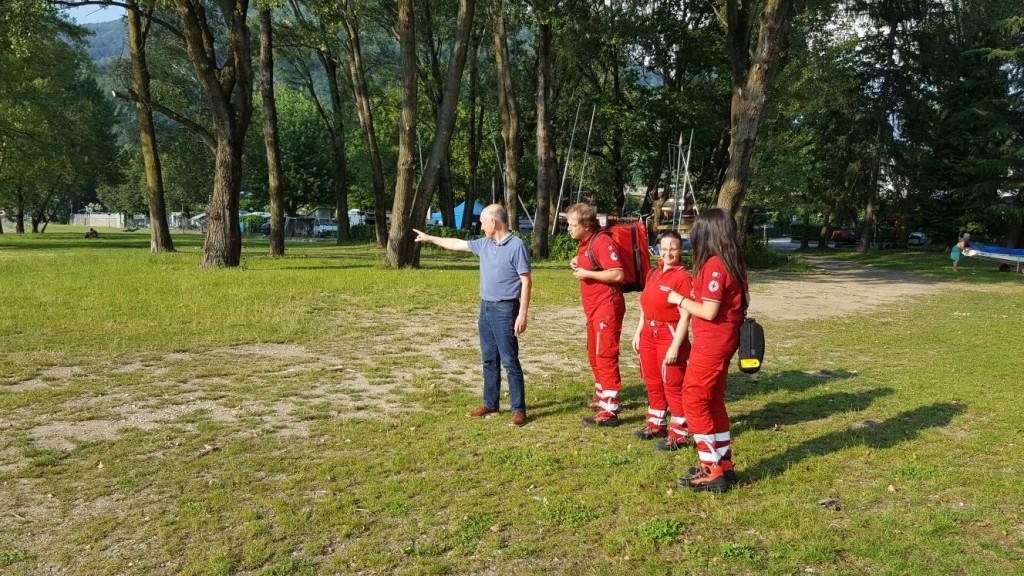 """Maccagno, al via il servizio """"Parco Giona sicuro"""" con la Croce Rossa Luino"""