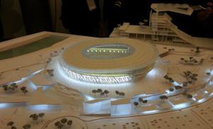 Il nuovo stadio della Roma (cinquequotidiano.it)