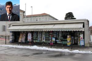 """L'assessore Barozzi, Piazza Libertà  a Luino e """"L'angolo quotidiano"""""""
