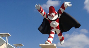 Burlamacco, la maschera del Carnevale di Viareggio (upload.wikimedia.org)