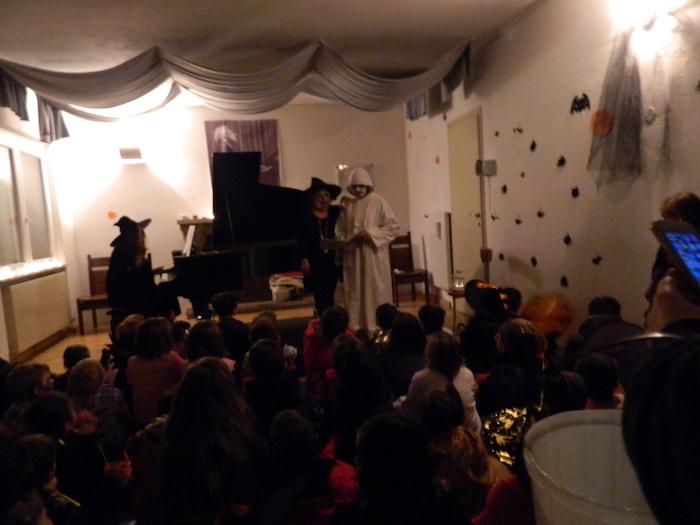 """""""Piccoli Brividi"""" a Brezzo di Bedero, ma per Halloween i bambini tornati a casa senza paure"""