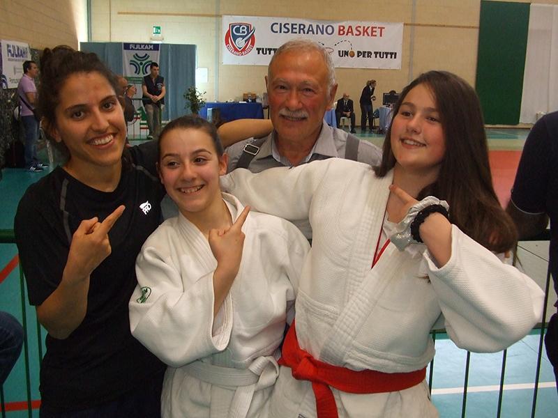 Judo Bu-Sen Luino: tre atlete qualificate ai campionati italiani. Elena, Sofia, Leo ed Emma