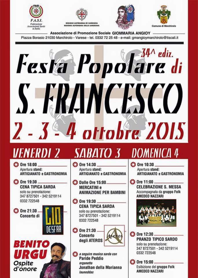 Festa di San Francesco - Marchirolo