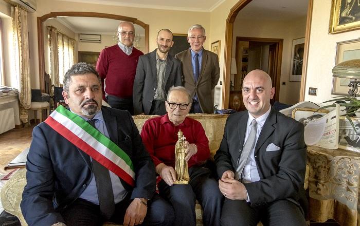 """Lavena Ponte Tresa, assegnato al grande Maestro Ennio Morricone il """"Premio San Zosimo"""""""