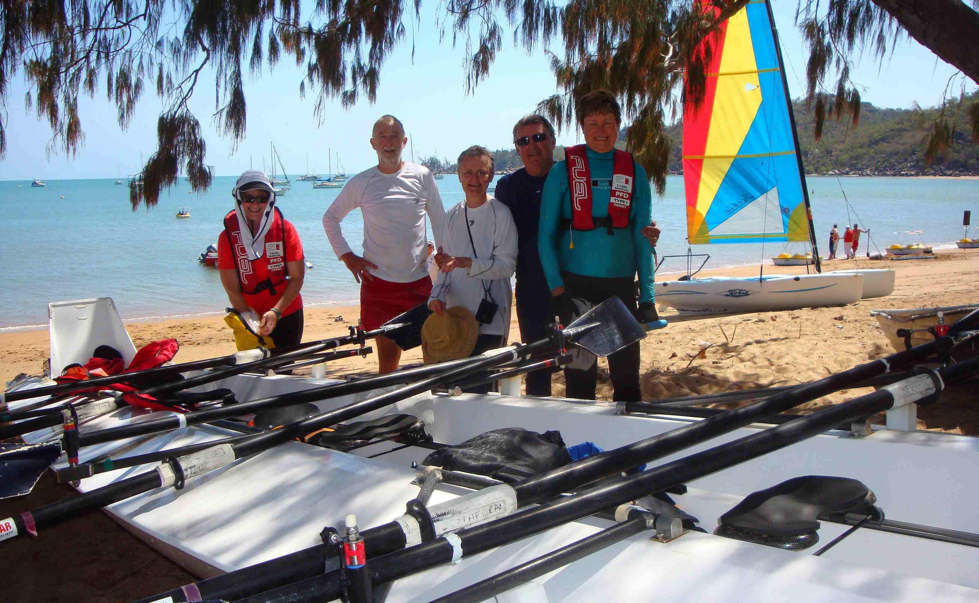 """L'australiana Marion Gaemers: """"Felice di poter remare sul Lago Maggiore"""""""