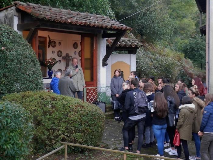 Tanti gli studenti dell'I.S.I.S. Città di Luino in visita alla Gera di Voldomino. Per non dimenticare