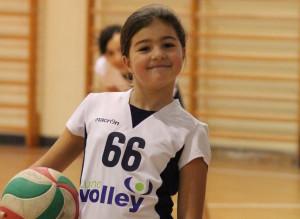 Una giocatrice della Luino Volley