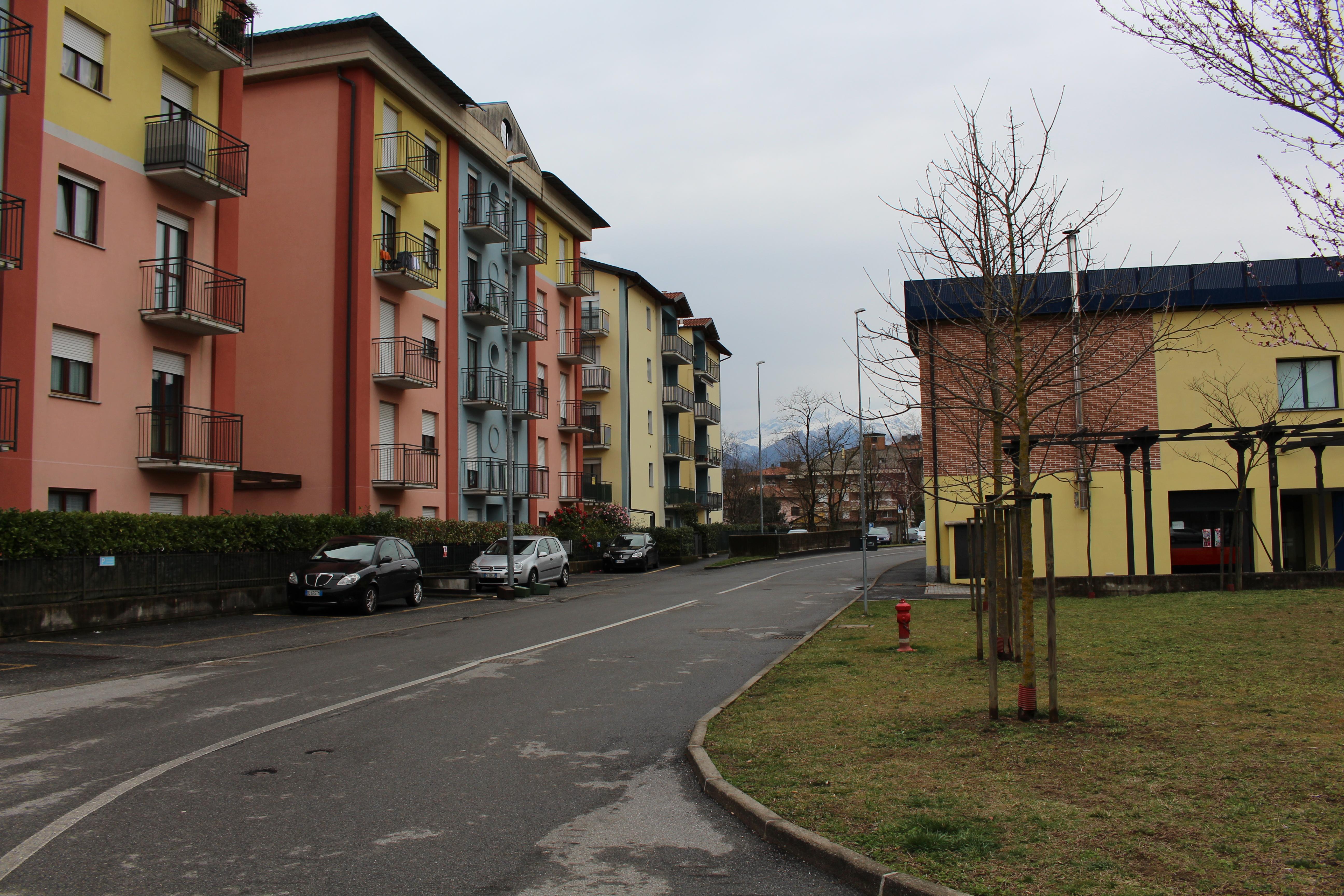 """Il """"Borgo sul Tresa"""", a Creva"""