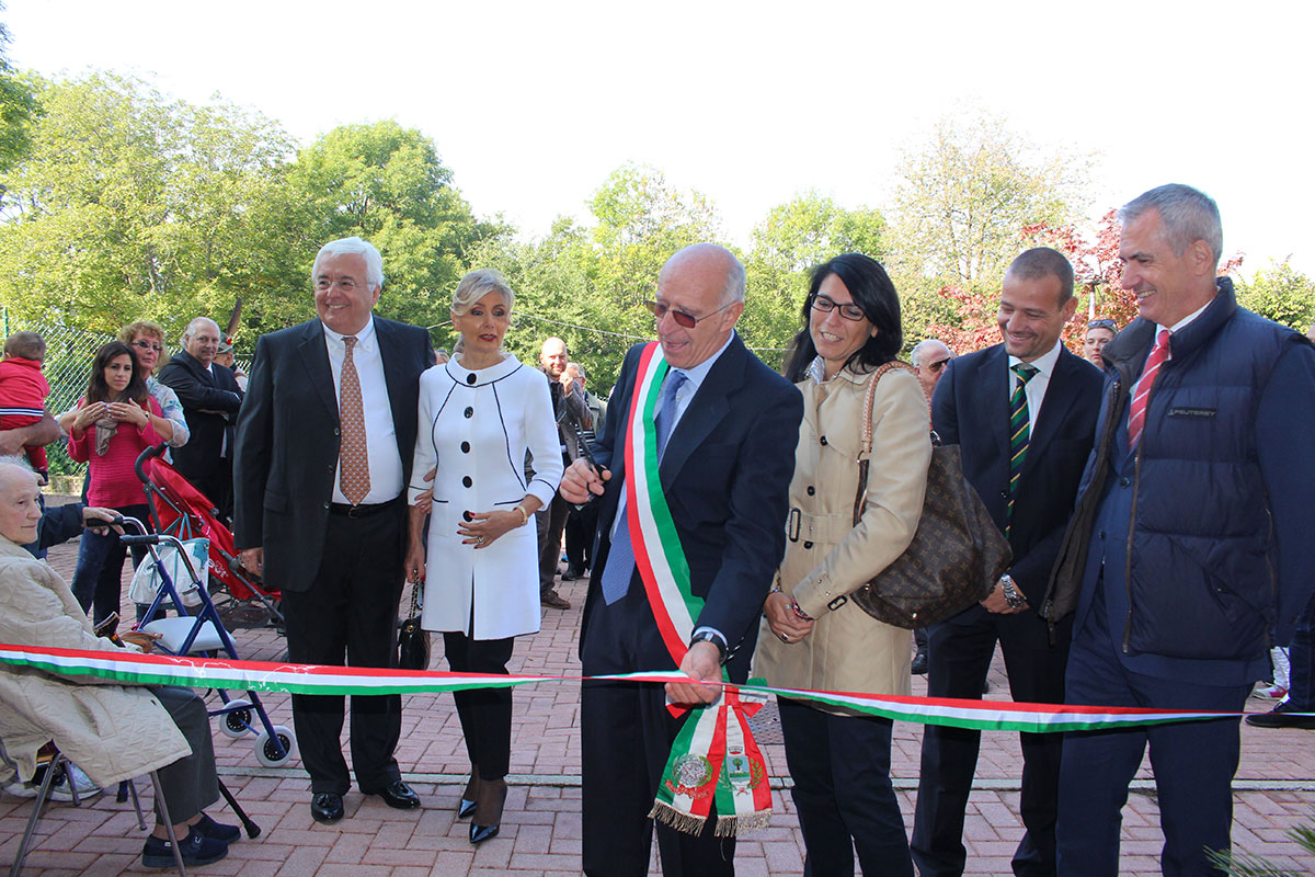 """Agra, inaugurata stamane la """"rinata"""" casa di riposo """"Albertini Vanda"""". Ecco le foto"""