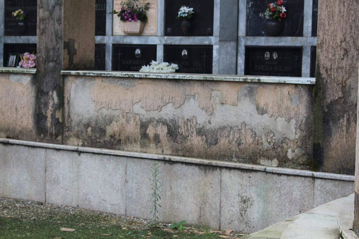 Il cimitero di Luino