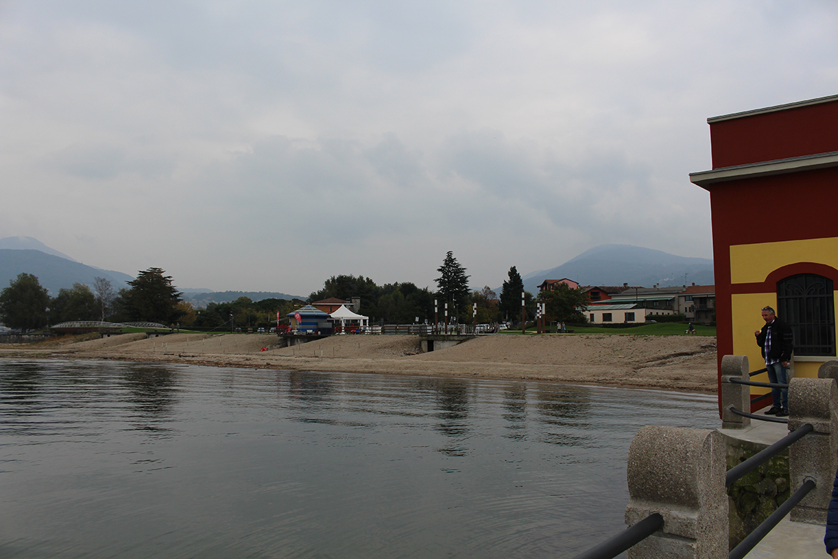 """Germignaga: le foto dell'inaugurazione del nuovo polo culturale all'ex """"Colonia elioterapica"""""""