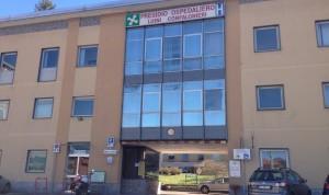 """L'entrata dell'Ospedale di Luino """"Luini Confalonieri e Fondazione Macchi"""""""