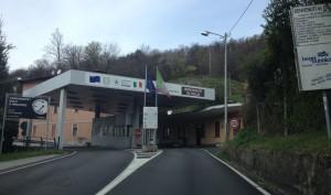 Il valico italo-svizzero di Fornasetta