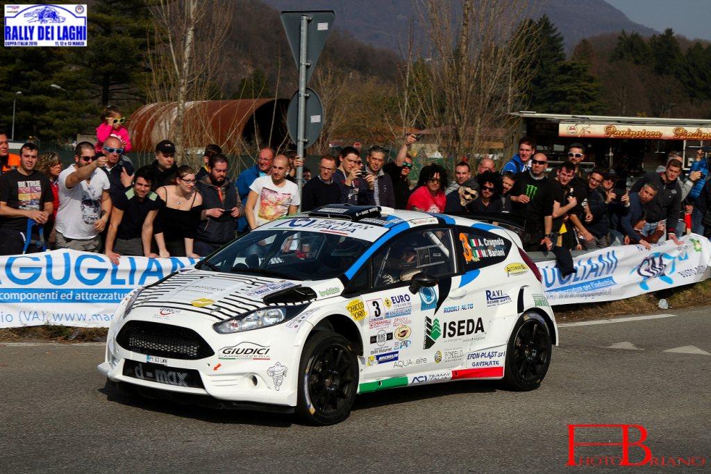 Miele ha in mano il Rally dei Laghi 2016: dopo la Ps5 oltre 40 secondi su Crugnola