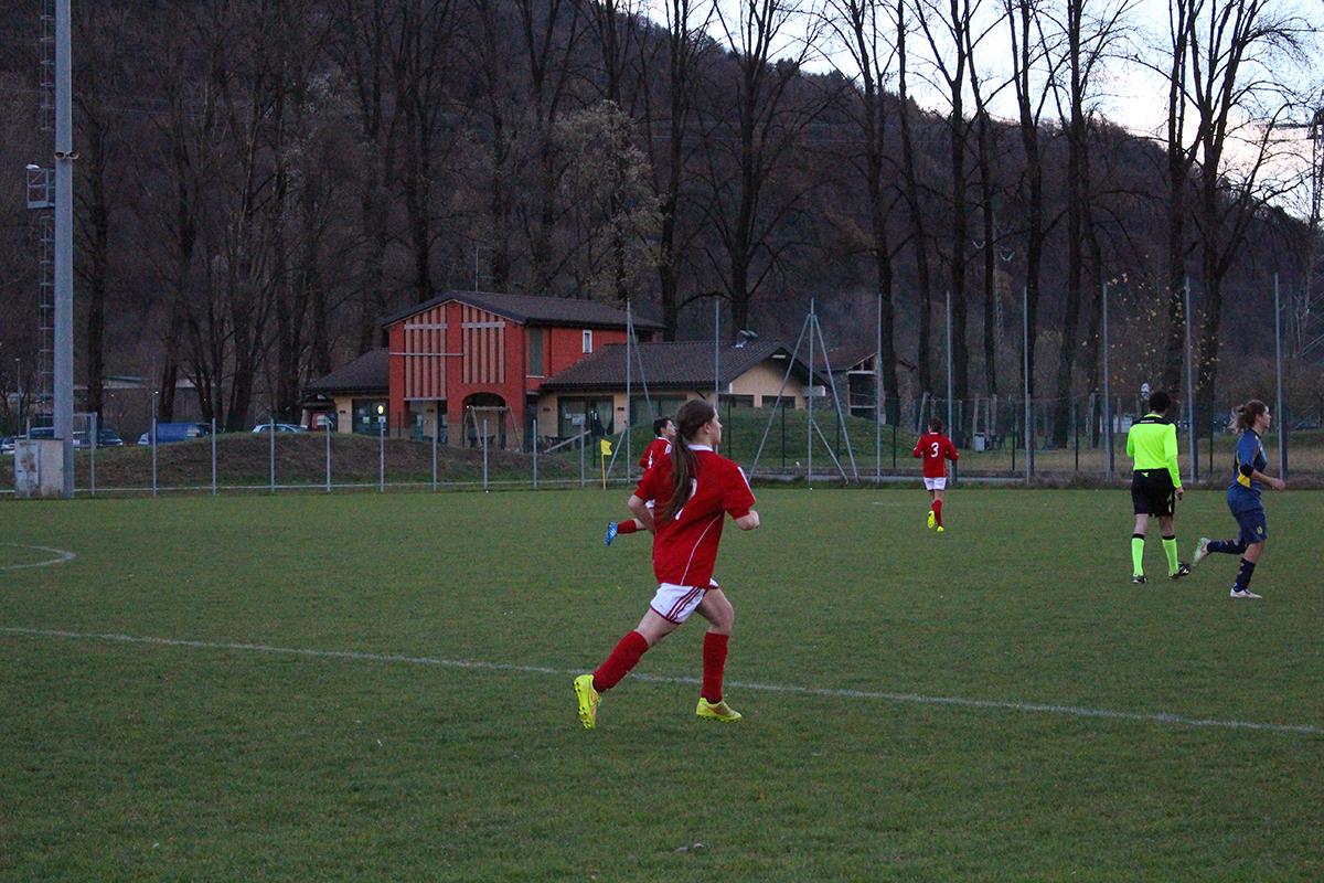 Calcio femminile: Villa Cortese si impone a Luino 4-1, l'Alto Verbano era passato in vantaggio con Denti