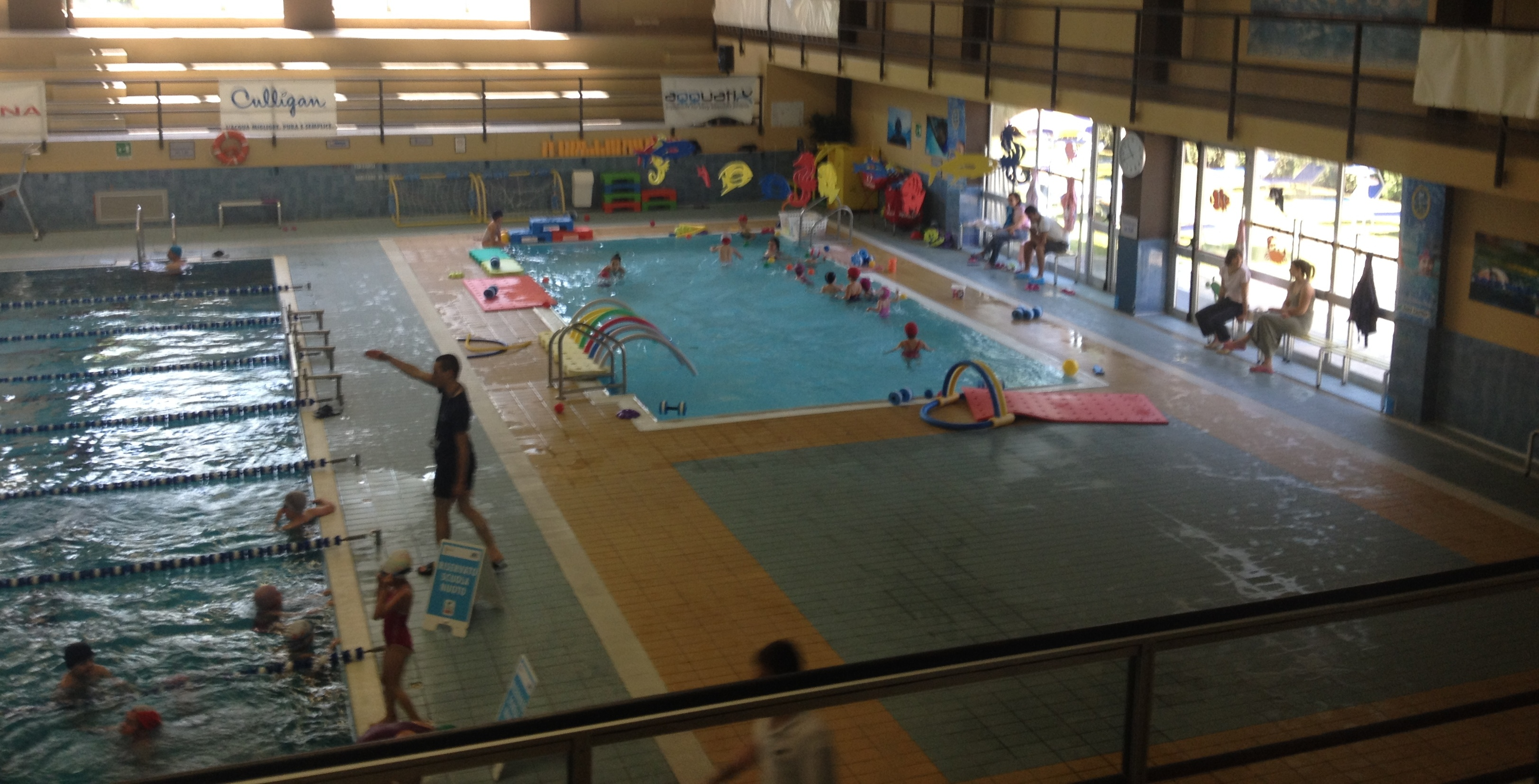 Luino torna a splendere il sole sul centro sportivo le for Centro sportivo le piscine guastalla