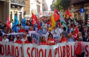 """La protesta contro la """"Buona Scuola""""(adnkronos.com)"""