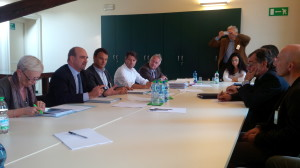 L'incontro di ieri a Milano, per la valorizzazione di Palazzo Verbania a Luino