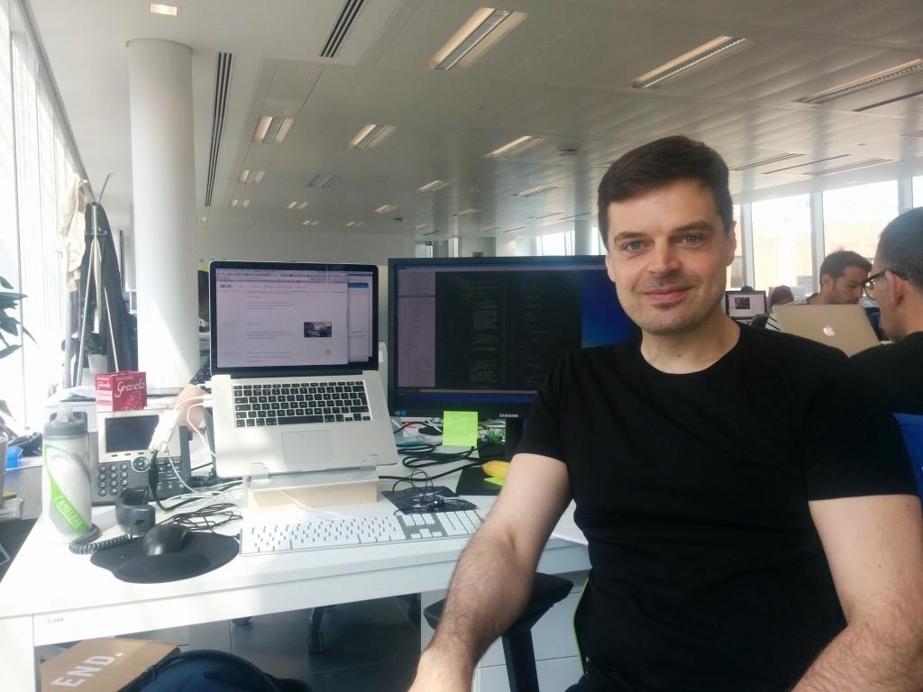 """Luinesi all'estero"", Giuseppe Scalese a Londra è front-end developer di un'agenzia digitale"