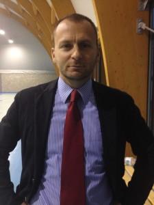 Il Vicepresidente della Pallacanestro Verbano Luino, Matteo Minetti