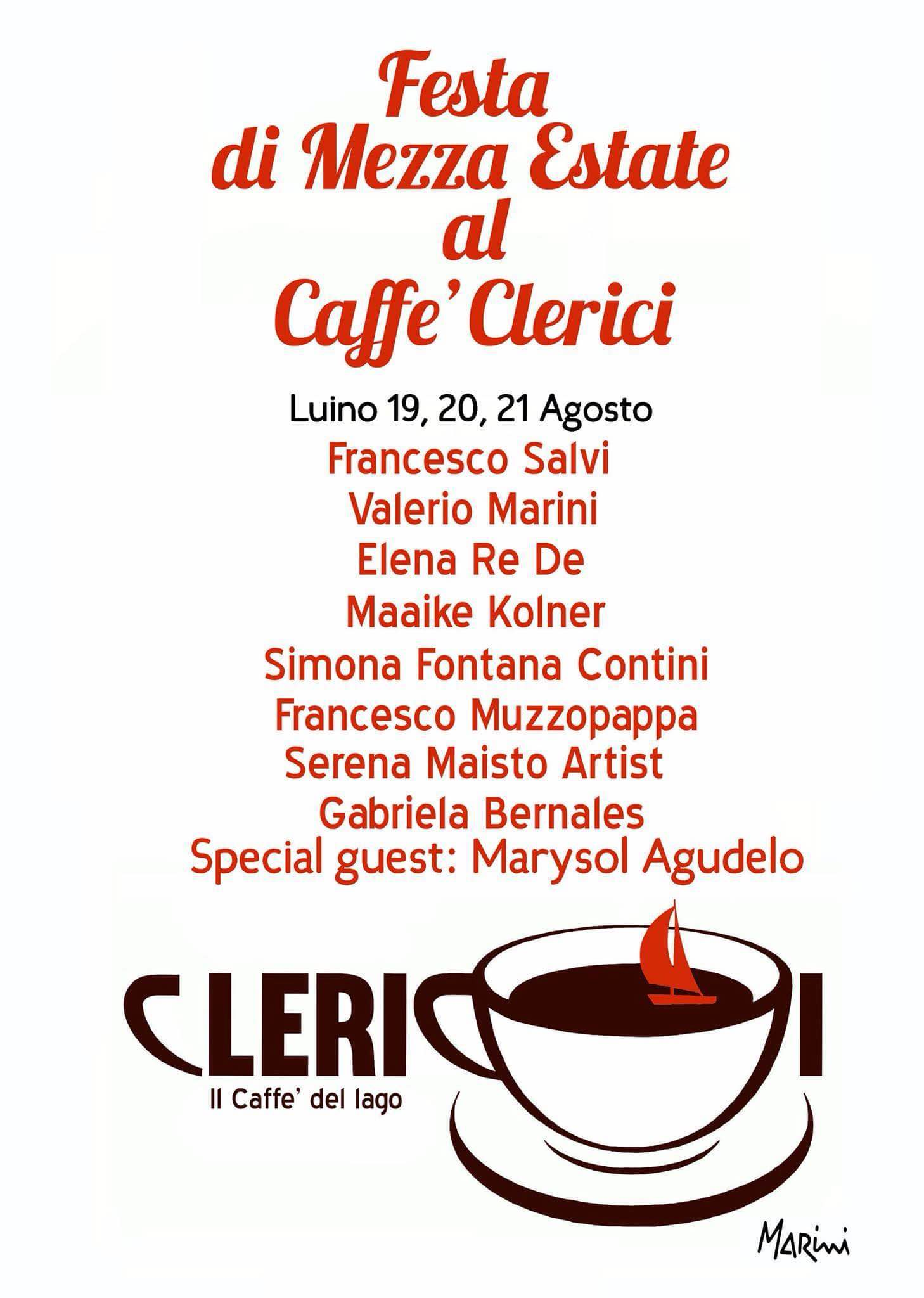 "Luino: nel weekend ""Festa di Mezza Estate"" al Caffè Clerici tra cortometraggi e arte"