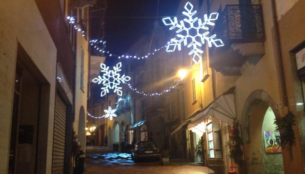 Natale in via Felice Cavallotti - Luino