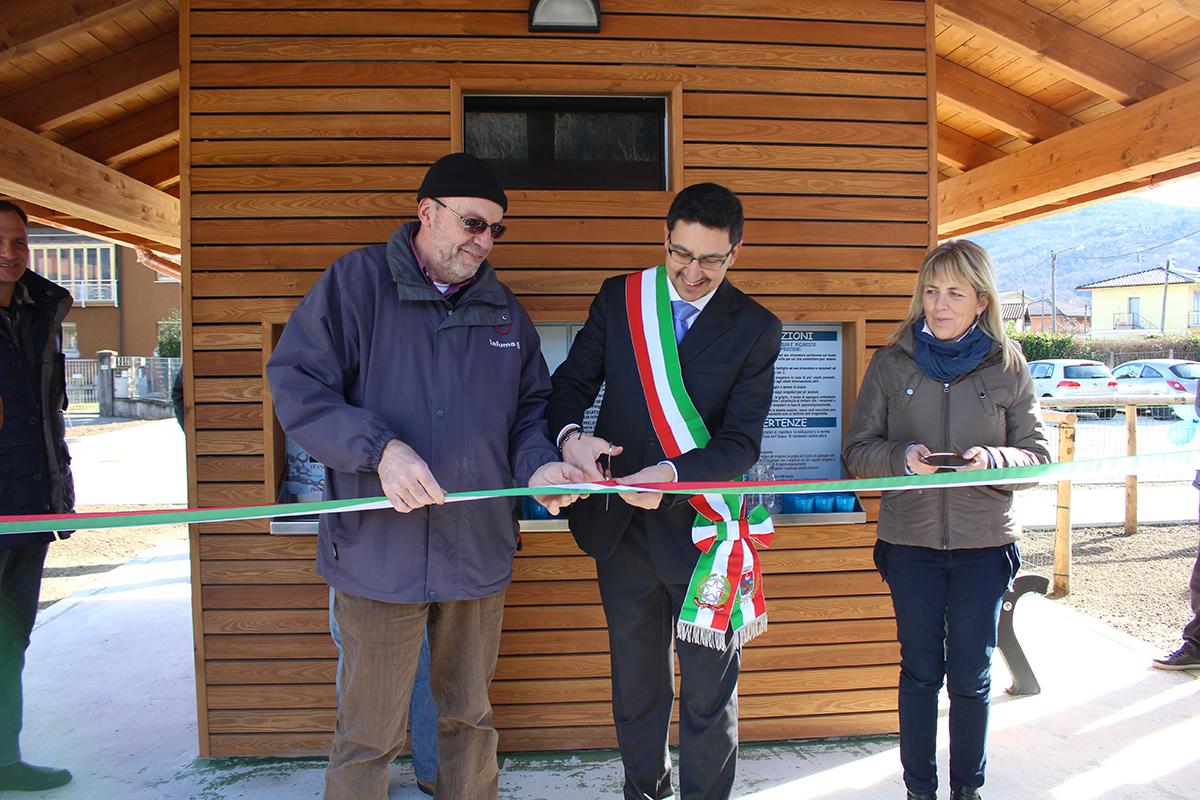 """Inaugurata a Germignaga la Casa dell'Acqua. Fazio: """"Valore aggiunto per la comunità"""""""