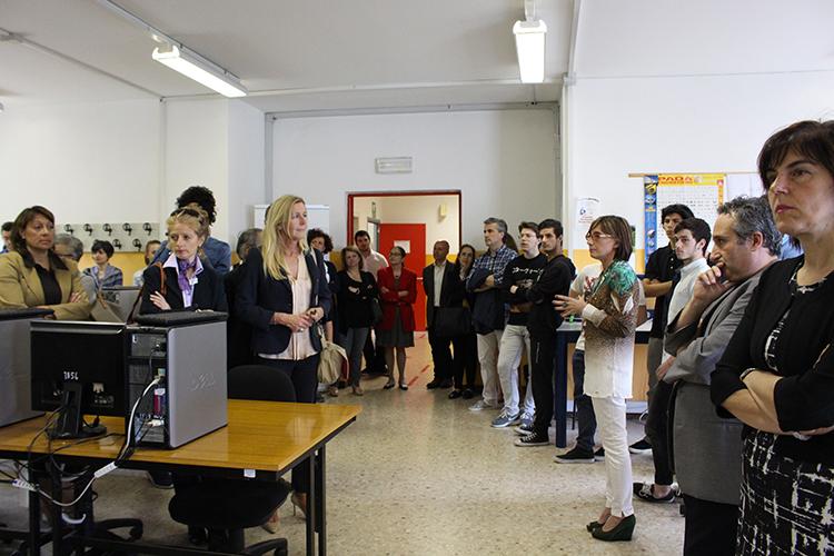 Luino: inaugurata la palestra della sede associata dell'I.S.I.S., presentati anche progetti degli studenti per il territorio