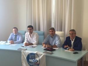 La conferenza stampa di ieri del Nuovo Centro Destra a Varese