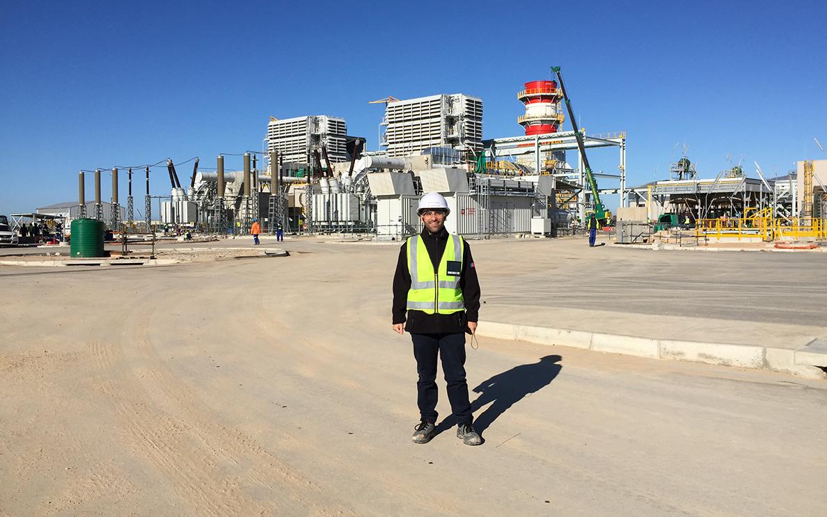 """""""Luinesi all'estero"""": Antonio Buccinnà in Sud Africa impegnato nella costruzione e messa in servizio di due centrali elettriche"""