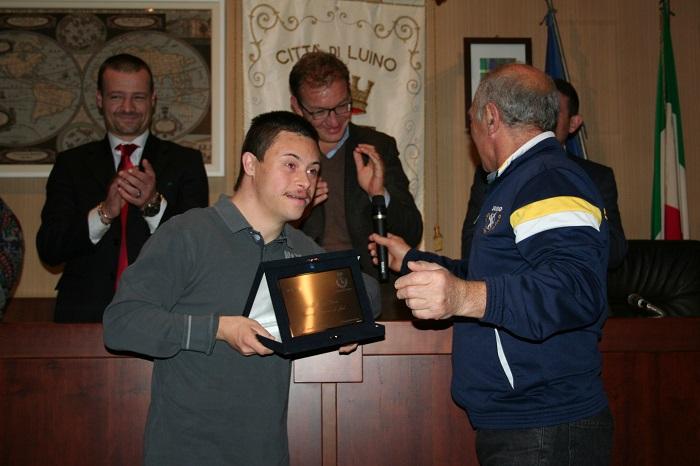 Luino premia due campioni del judo: Leo e Andrea