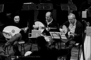Uno scatto durante il saggio all'Auditorium di Maccagno (© Samuele Dall'Asta)