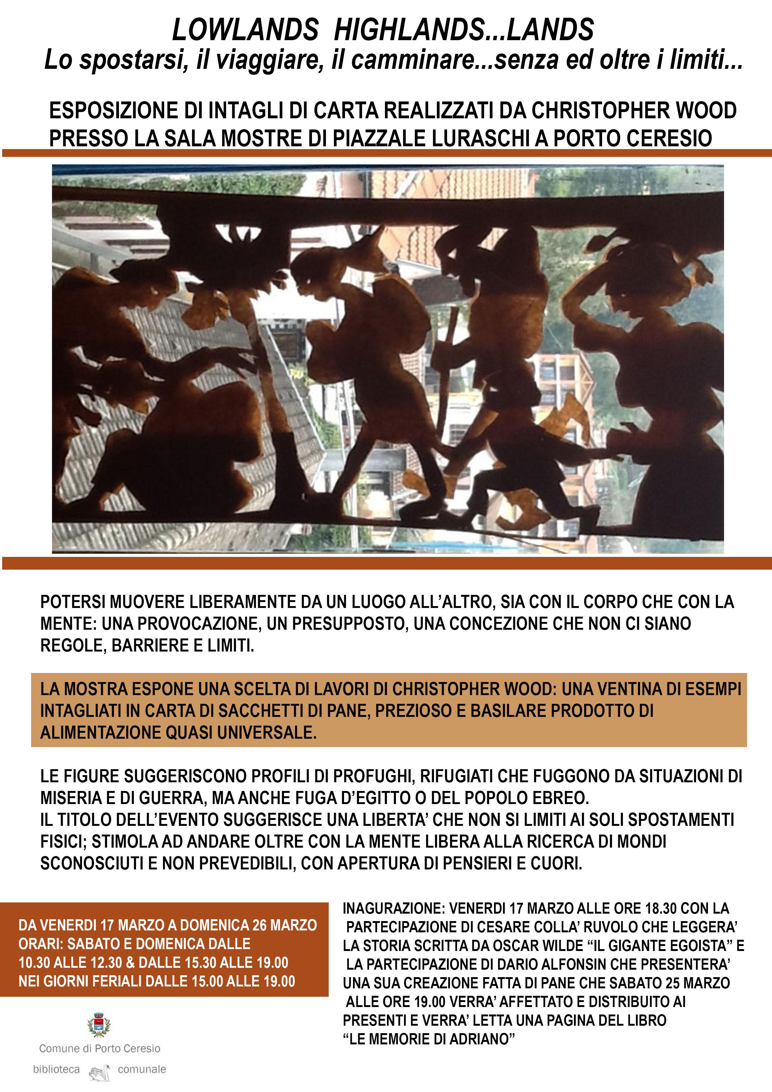 Porto Ceresio, intagli di carta e arte: oggi l'inaugurazione di una mostra che libera i confini di corpo e mente