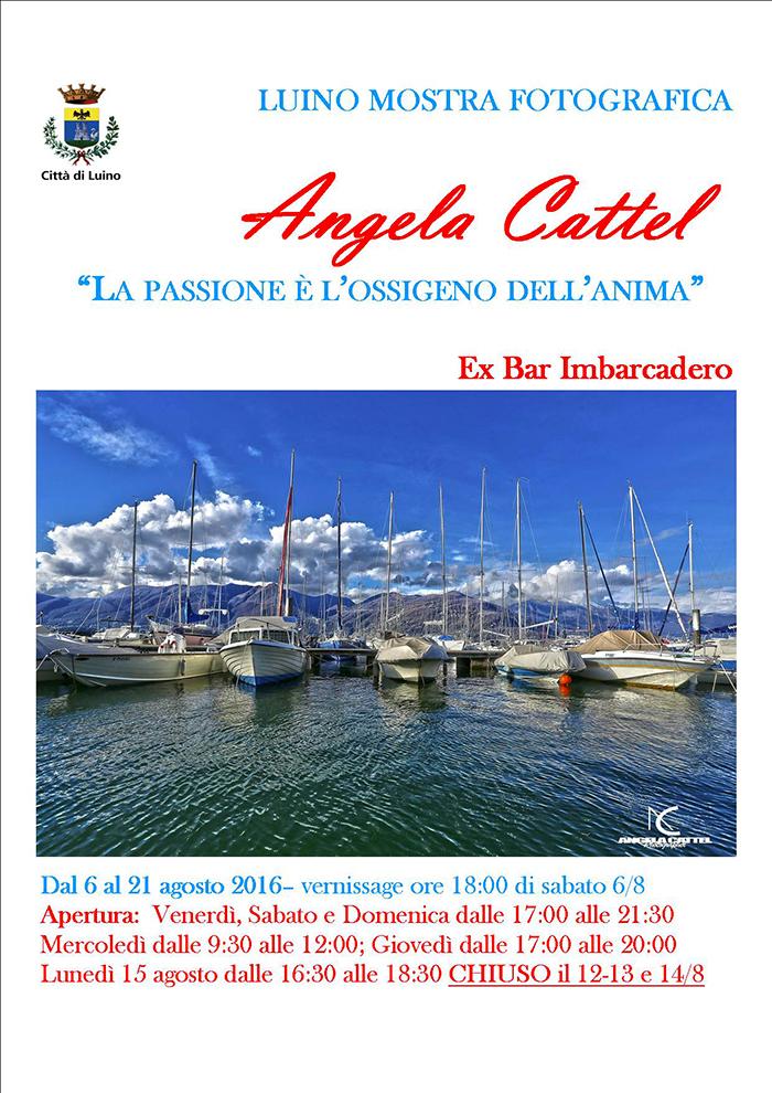 """Luino: domani il vernissage di """"La passione è l'ossigeno dell'anima"""", mostra fotografica di Angela Cattel"""