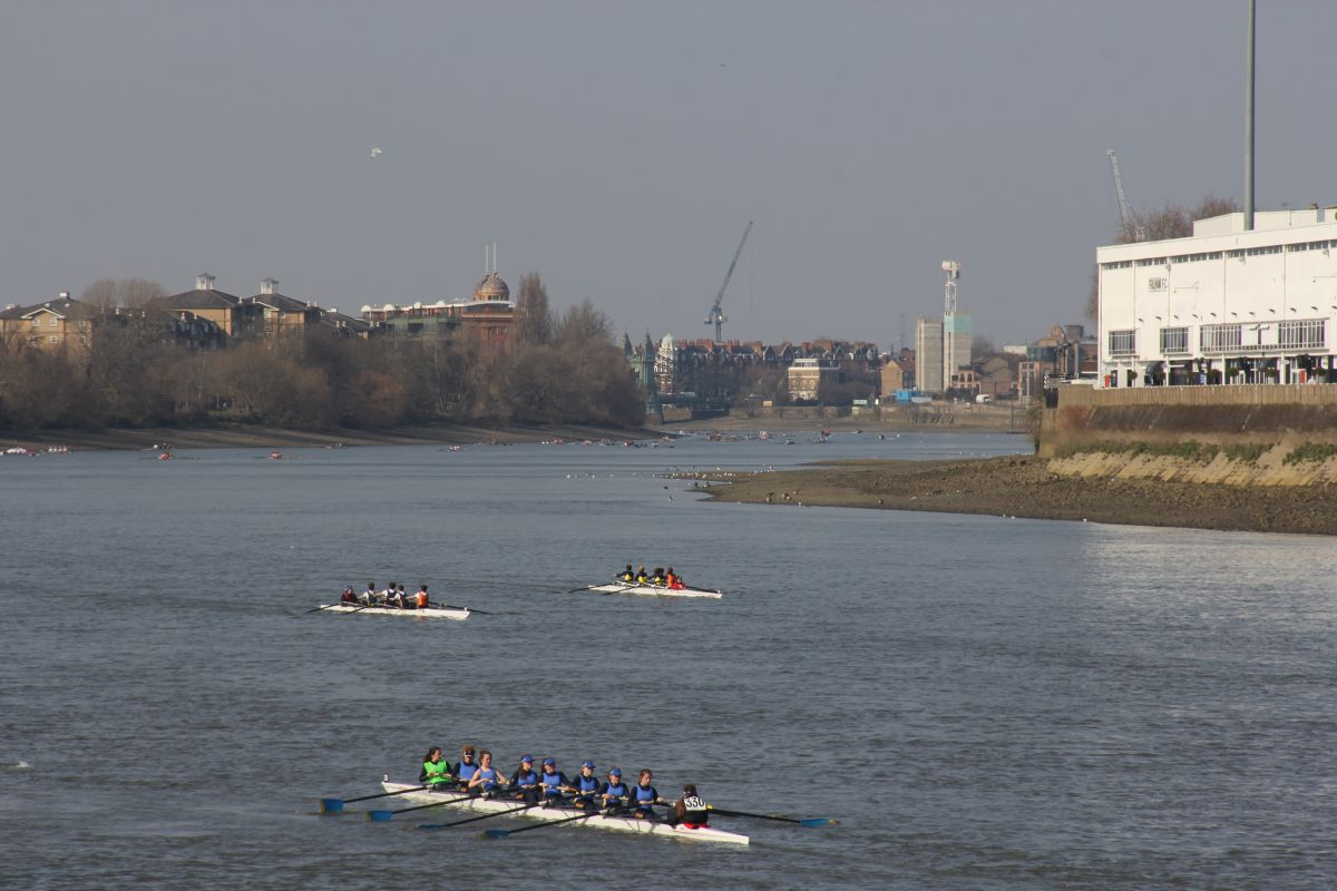 "Canottieri Luino dodicesima alla ""School's Head of the river Race"" di Londra"