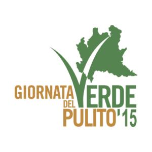 Il logo della Giornata del Verde Pulito 2015 (reti.regione.lombardia.it). Foto di copertina Diana Rusu ©
